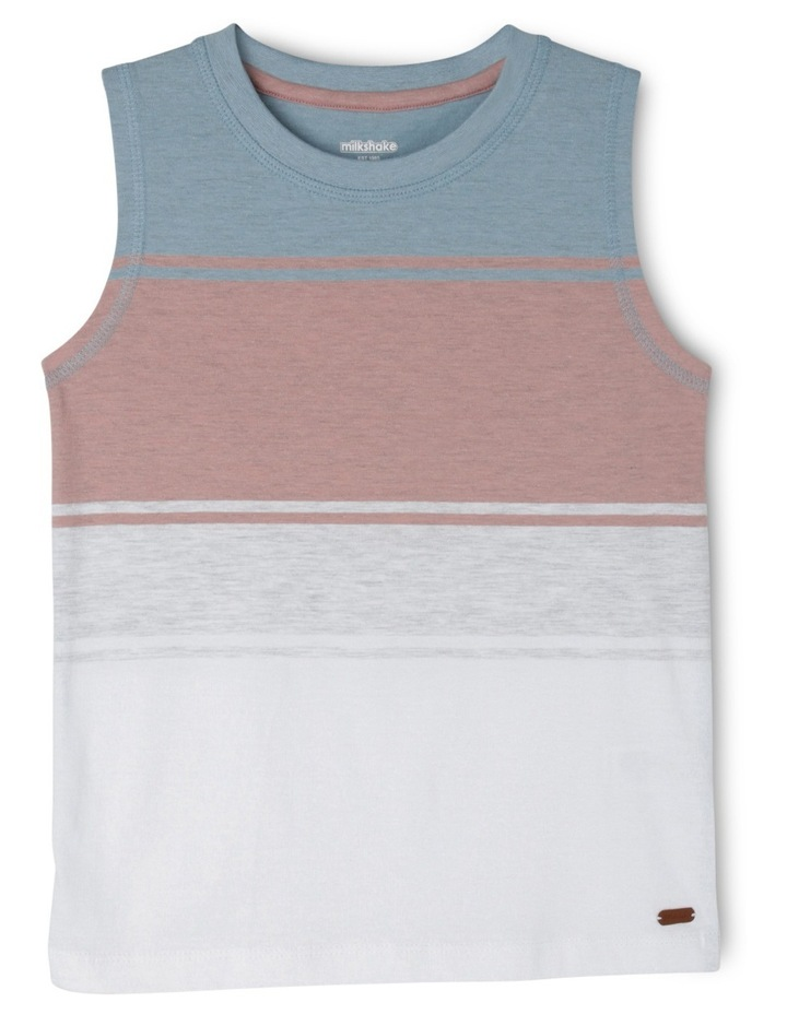 Engineered Stripe Singlet image 1