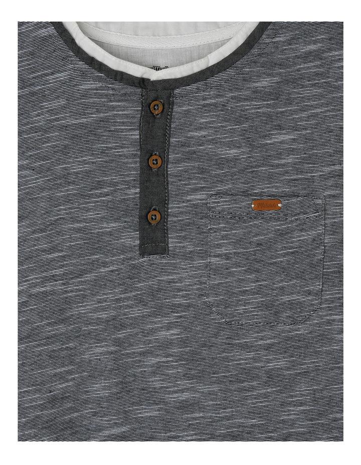 Slub Henley Woven Shirt Tail image 2