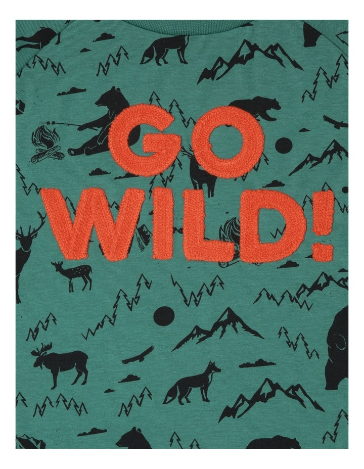 Go Wild Aop Raglan Tee image 2
