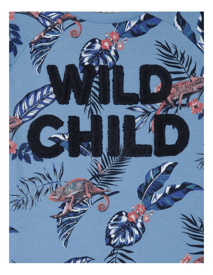 Tee Long Sleeve Raglan Wild Child image 2