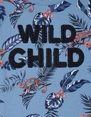 Milkshake - Tee Long Sleeve Raglan Wild Child