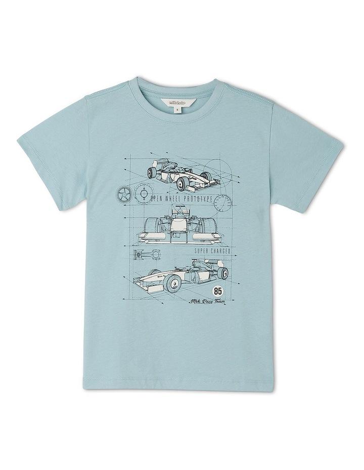5ba6f136eee4c Milkshake Core T-Shirt Lets Build A Car