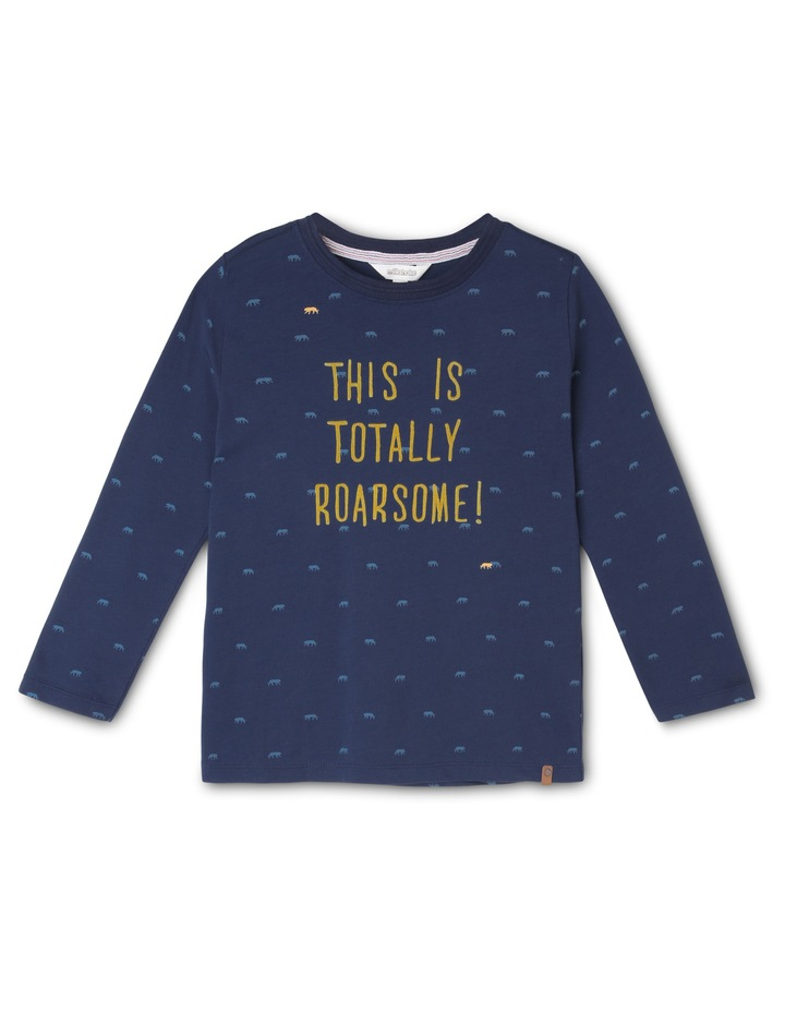 Totally Roarsome Long Sleeve T-Shirt image 1