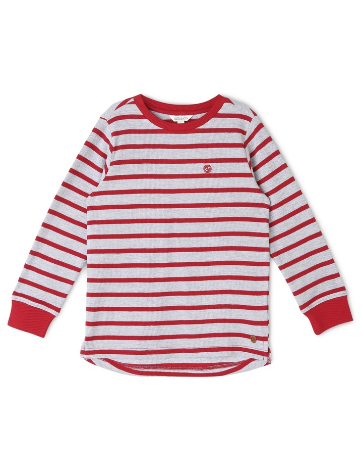 Stripe Long Sleeve T-Shirt image 1