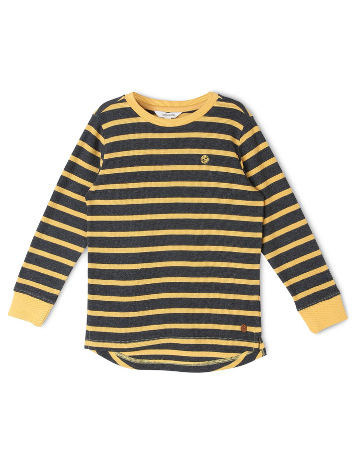 Stripe Long Sleeve T-Shirt image 1