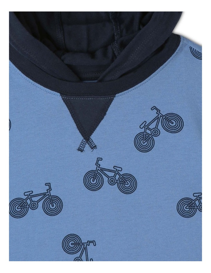 Bikes Hooded T-Shirt image 3