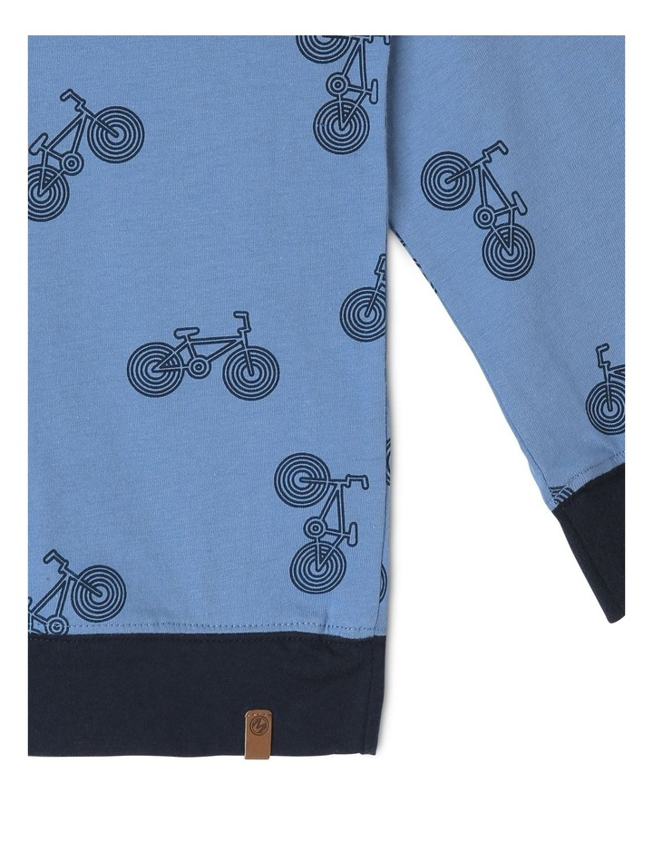 Bikes Hooded T-Shirt image 4
