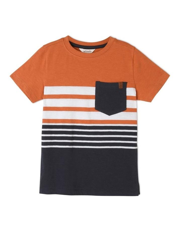 Stripe Cotton Tshirt image 1