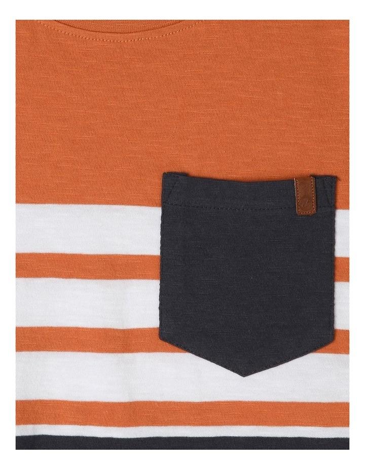 Stripe Cotton Tshirt image 2