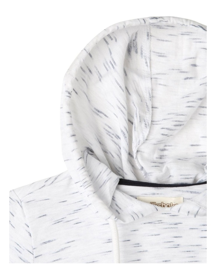 Hooded Zebra Print Tee image 2
