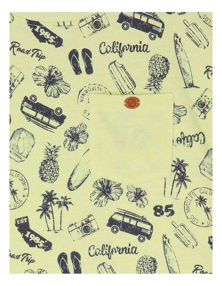 California Print T-Shirt image 2