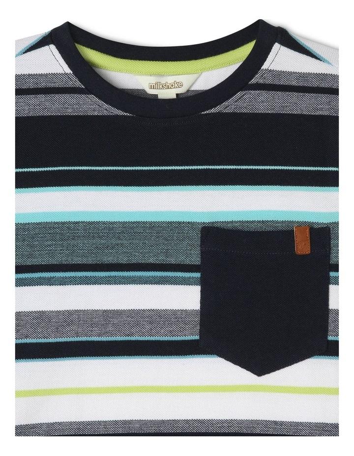Striped Print T-Shirt image 2