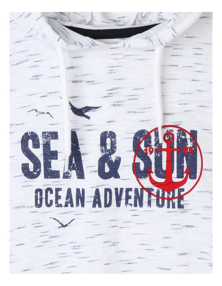 Sea & Sun Hooded T-Shirt image 2