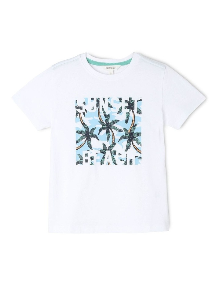 Sunset Beach Essential T-Shirt image 1