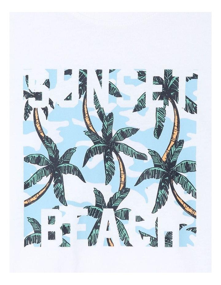 Sunset Beach Essential T-Shirt image 2