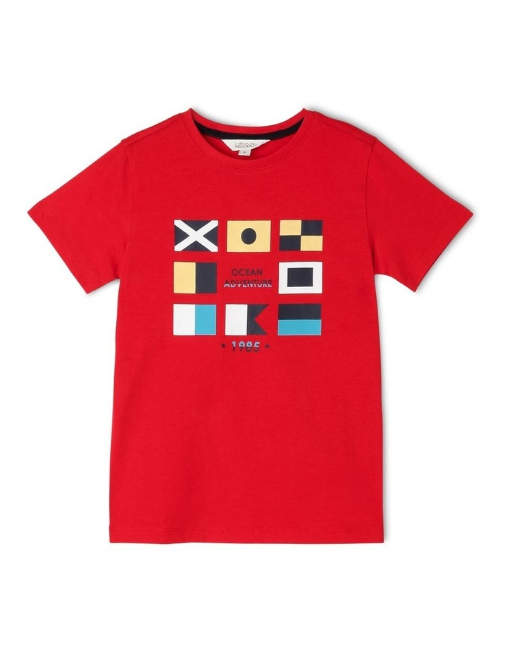 Nautical Flags Essential T-Shirt image 1