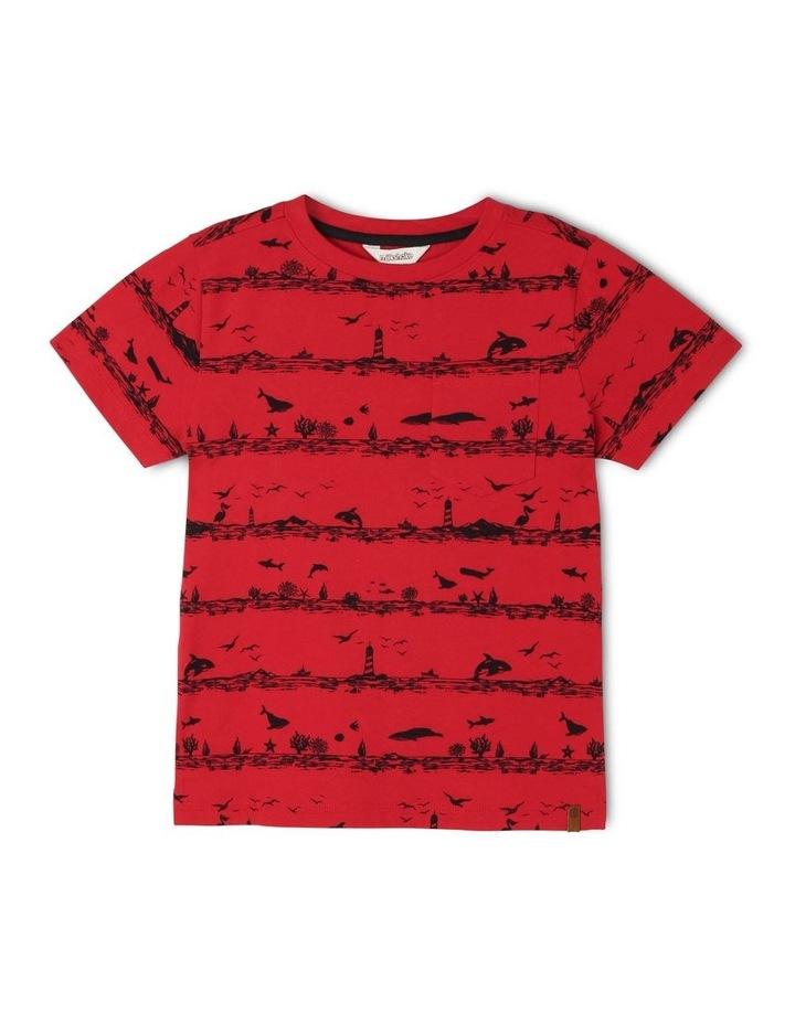Sea World Striped T-Shirt image 1