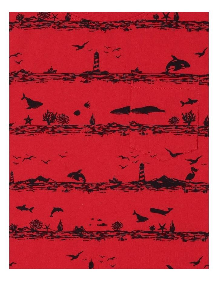 Sea World Striped T-Shirt image 2