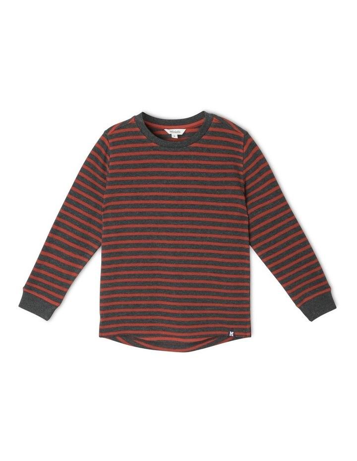 Long-Sleeve Waffle T-Shirt image 1