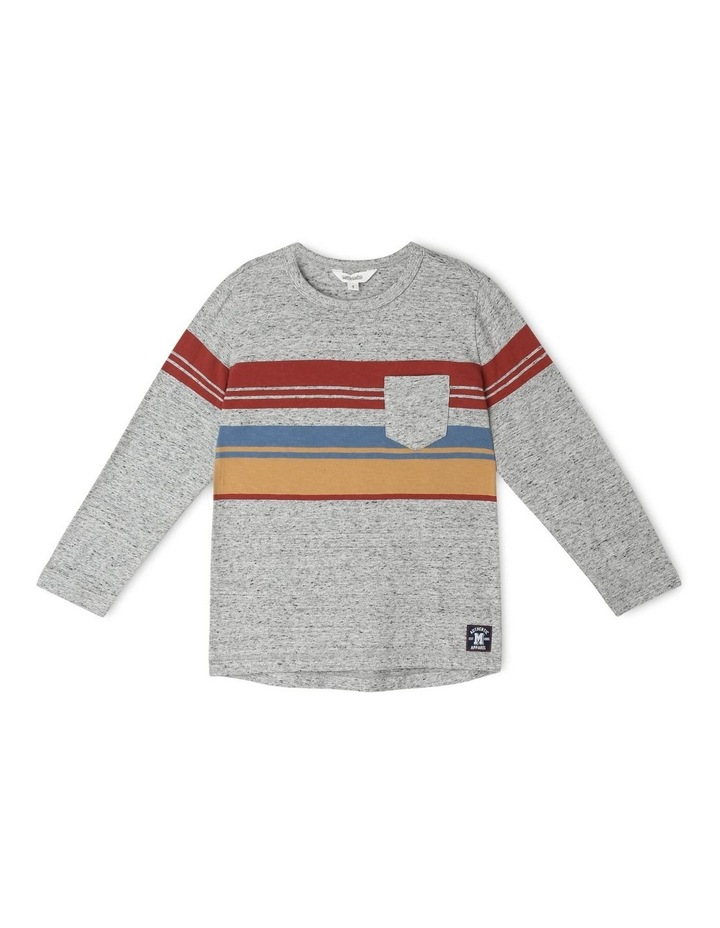 Striped Long-Sleeve T-Shirt image 1