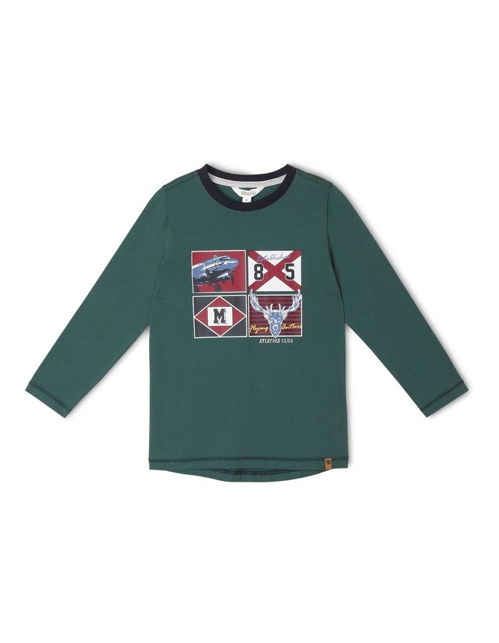Graphic Long-Sleeve T-Shirt image 1