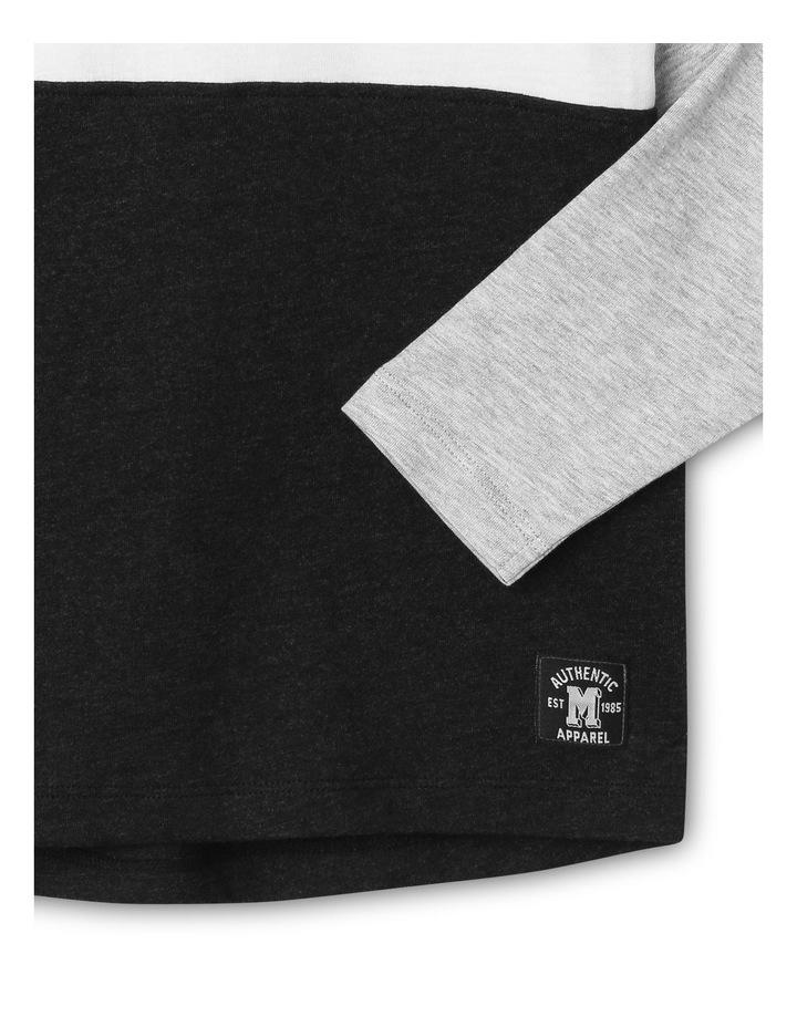 Spliced Long-Sleeve T-Shirt image 2