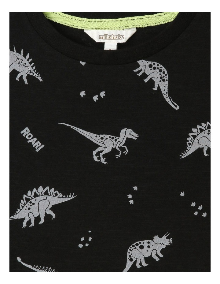 All Over Dino Print T-Shirt image 3