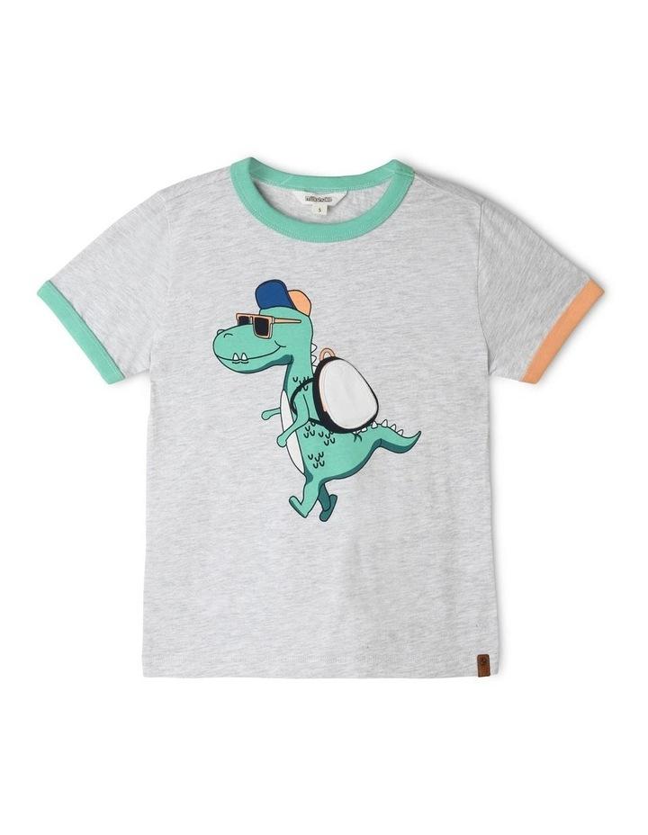 Knit 3D Applique T-Shirt image 1