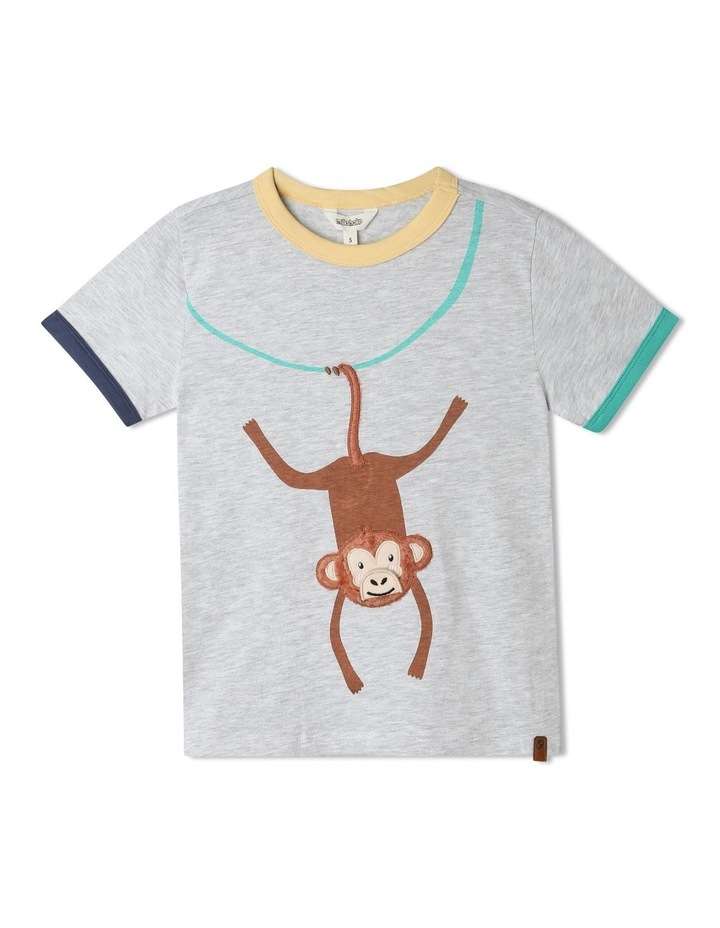 Knit T-Shirt with Applique image 1