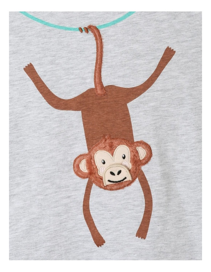 Knit T-Shirt with Applique image 2