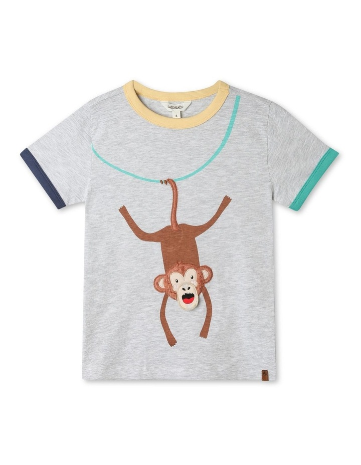Knit T-Shirt with Applique image 3