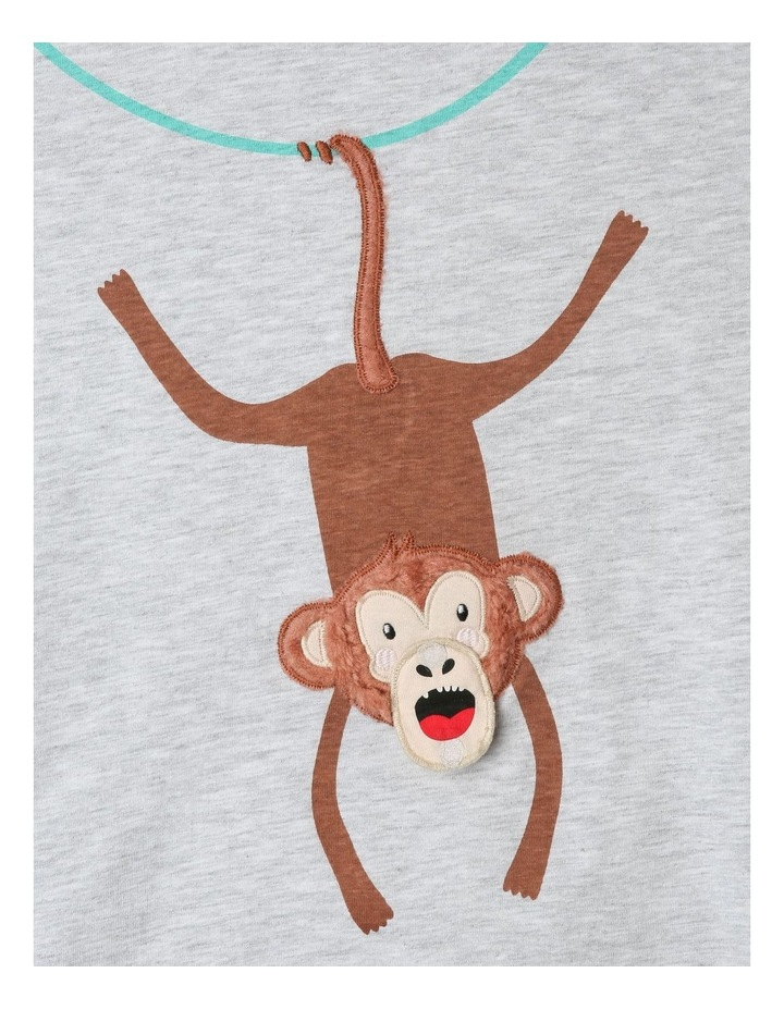 Knit T-Shirt with Applique image 4