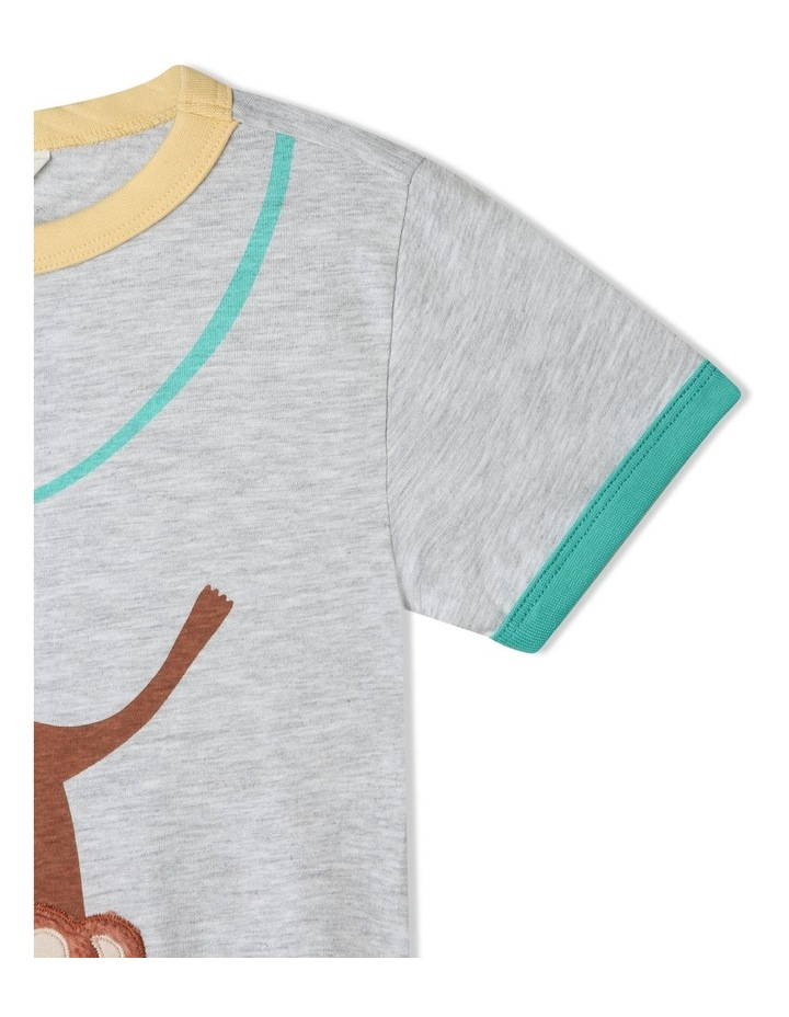 Knit T-Shirt with Applique image 5