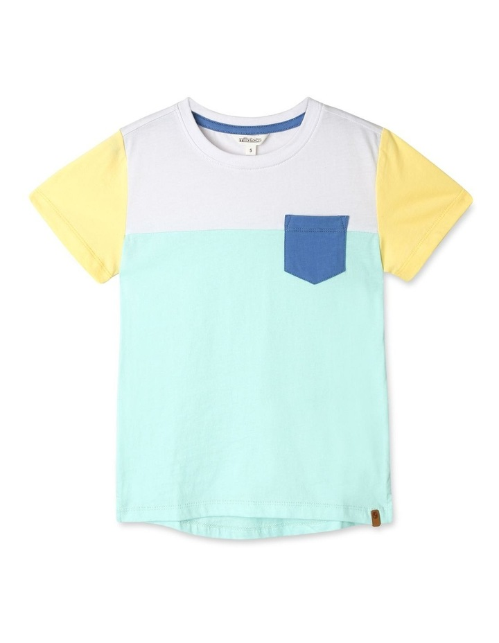 Splice Knit T-Shirt image 1