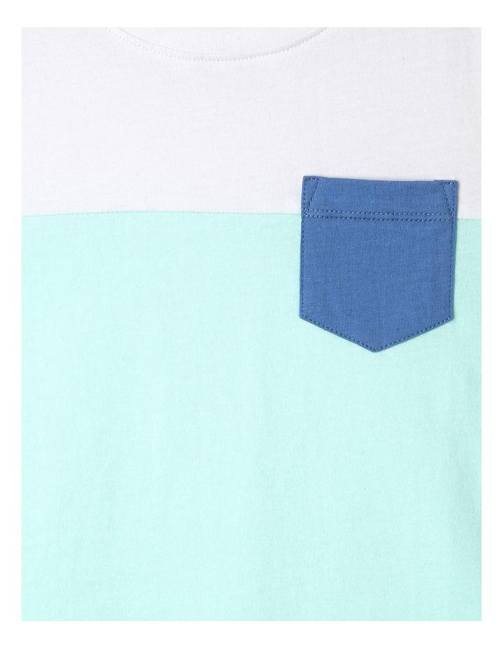 Splice Knit T-Shirt image 2