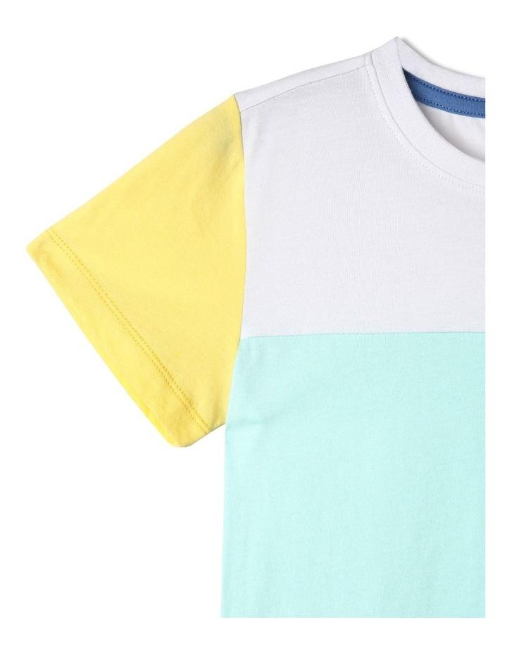 Splice Knit T-Shirt image 3