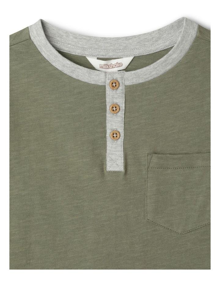 Knit Henley T-Shirt image 2