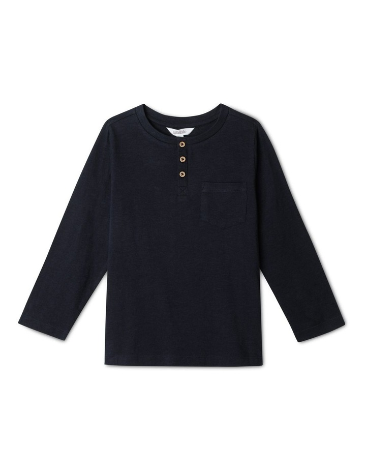 Knit Henley T-Shirt image 1