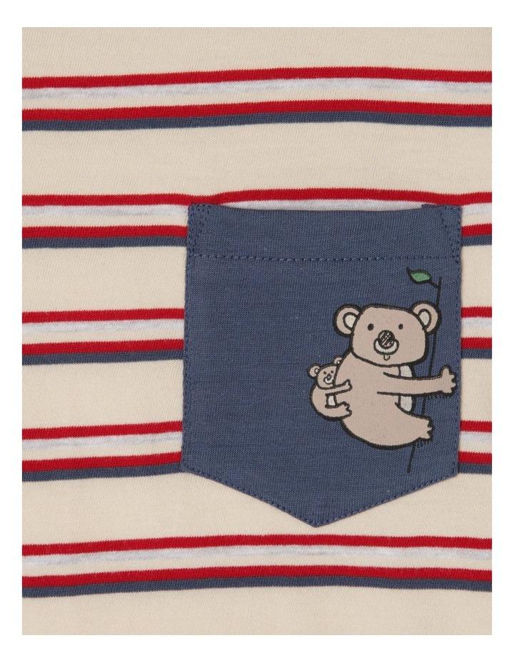 Stripe T-Shirt With Pocket image 5