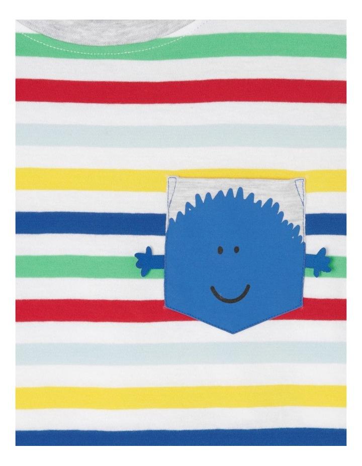 Stripe T-Shirt With Pocket image 4