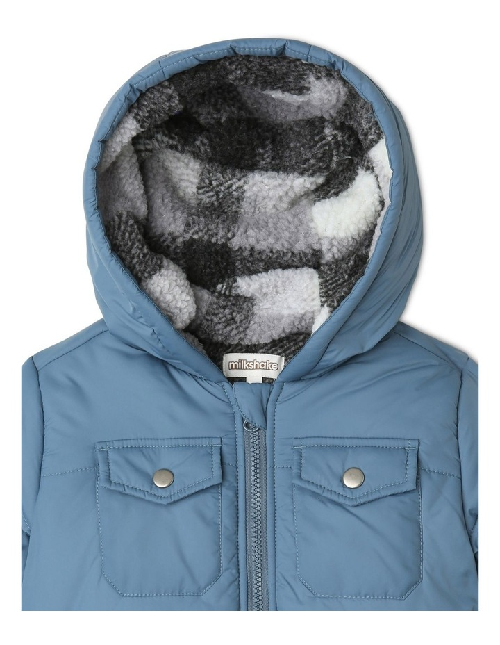 Check-Lined Hooded Anorak image 2