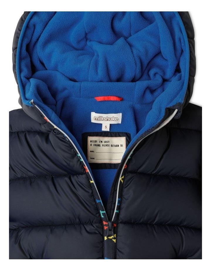 Puffer Jacket with Hood image 4