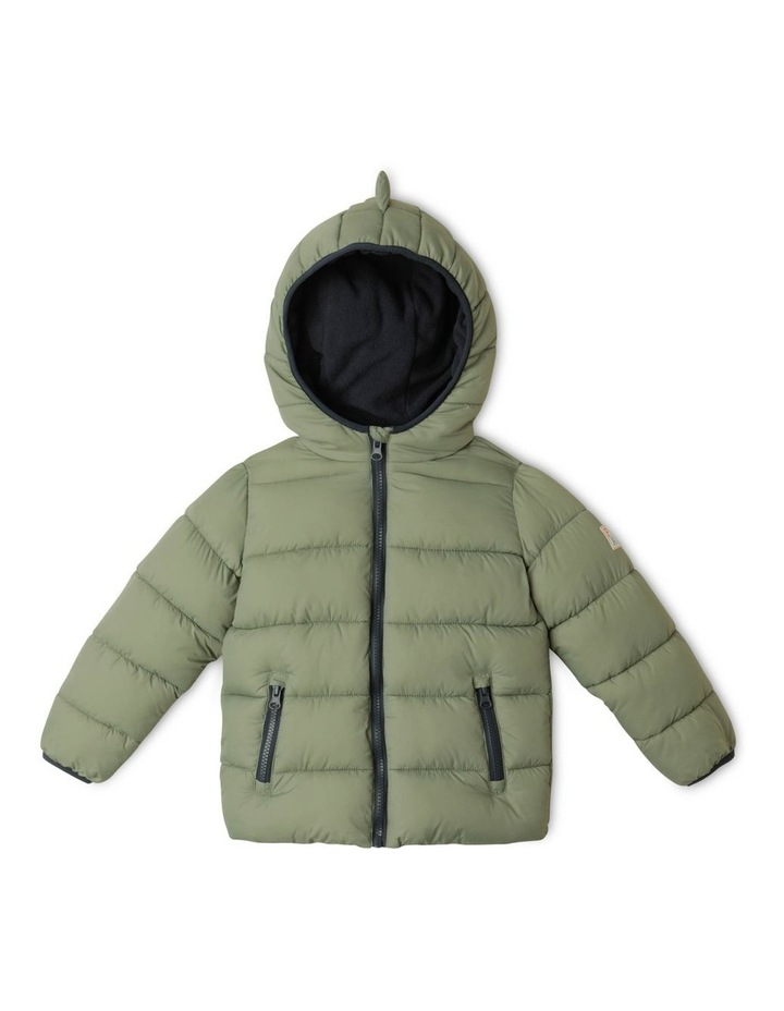 Puffer Jacket with Hood image 1