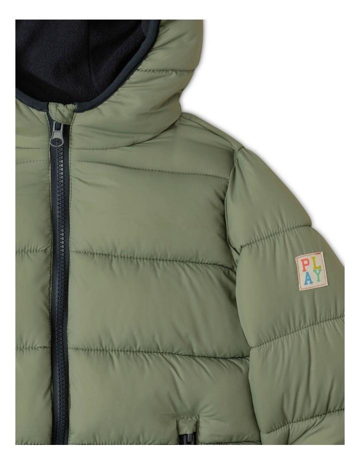 Puffer Jacket with Hood image 5