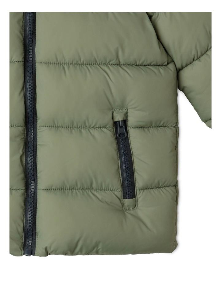 Puffer Jacket with Hood image 6