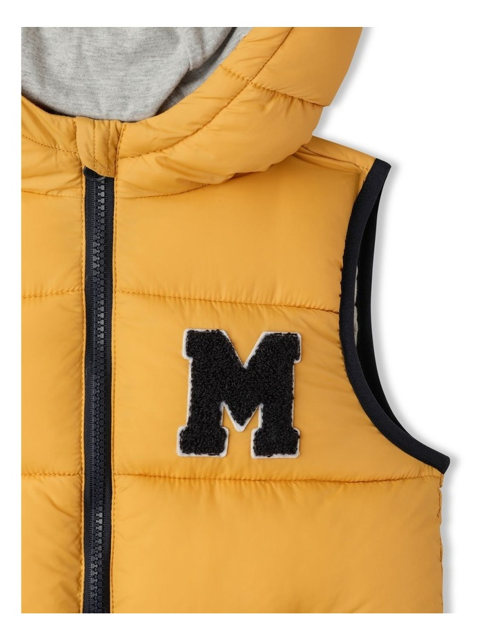 Puffer Vest with Hood image 2