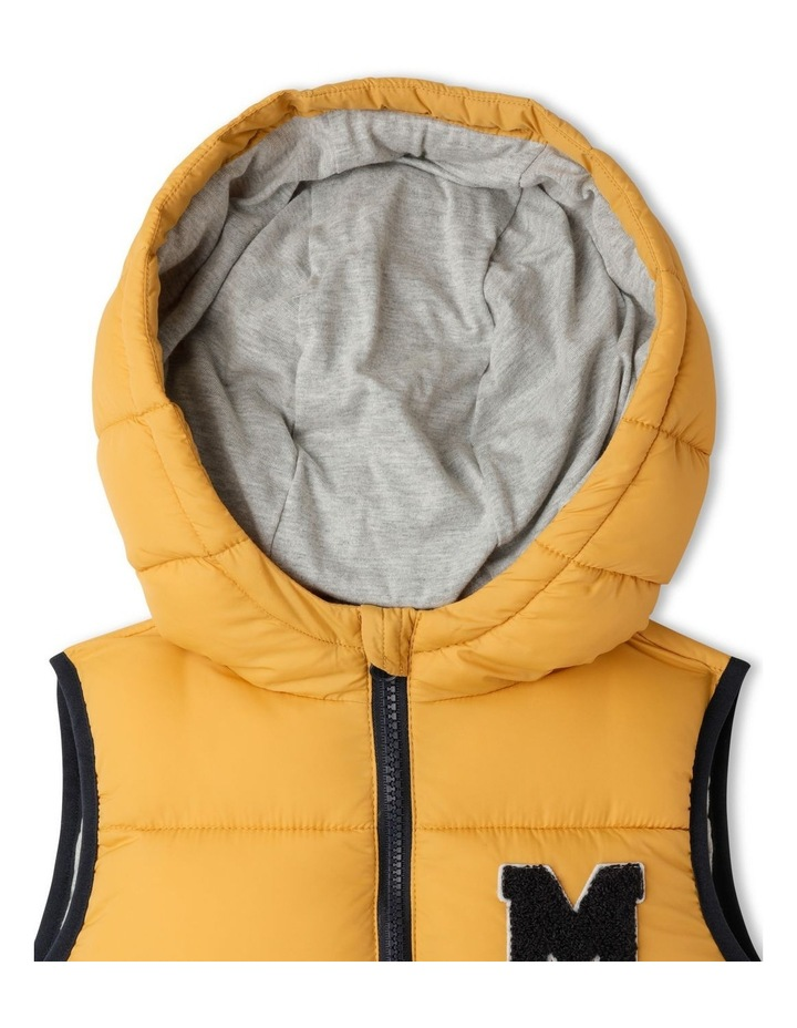 Puffer Vest with Hood image 3
