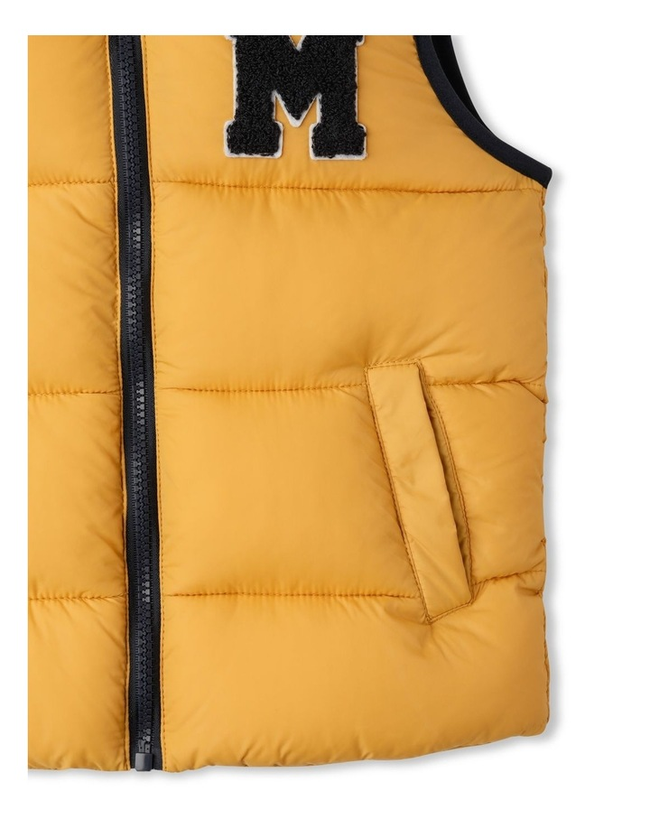 Puffer Vest with Hood image 4