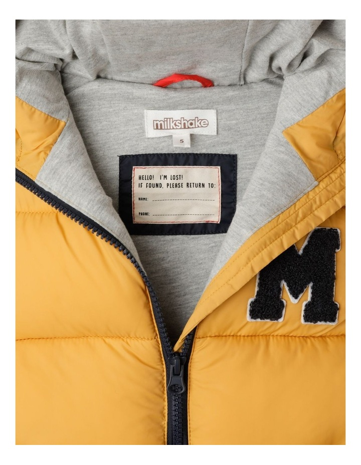 Puffer Vest with Hood image 5