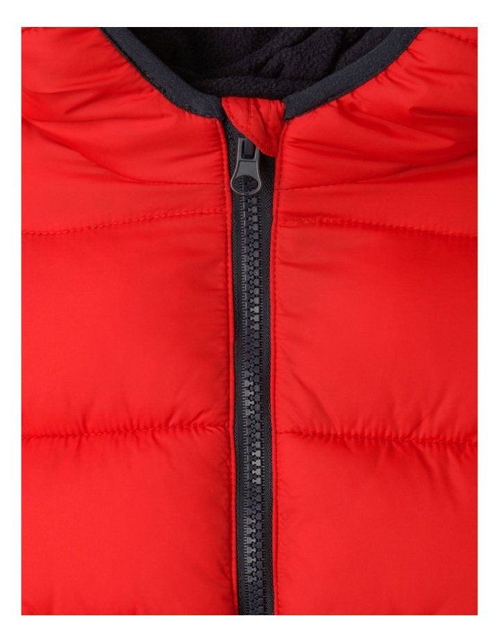 Puffer Jacket with Hood image 4
